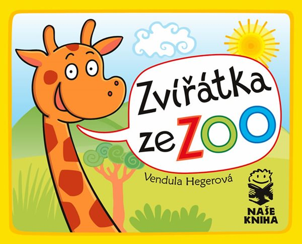 Zvířátka ze ZOO - Hegerová Vendula - 10,5x13,6
