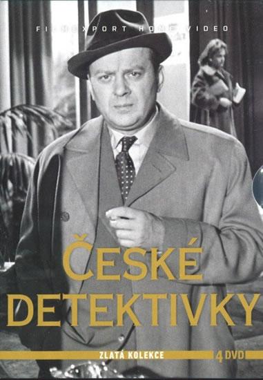 České detektivky - 4DVD - neuveden - 13,8x19,3