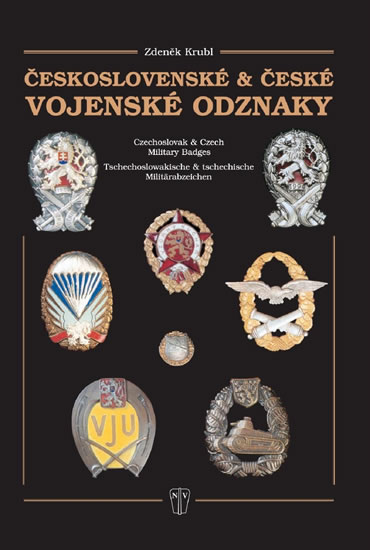 Českoslovské a české vojenské odznaky - Krubl Zdeněk - 21,4x30,4