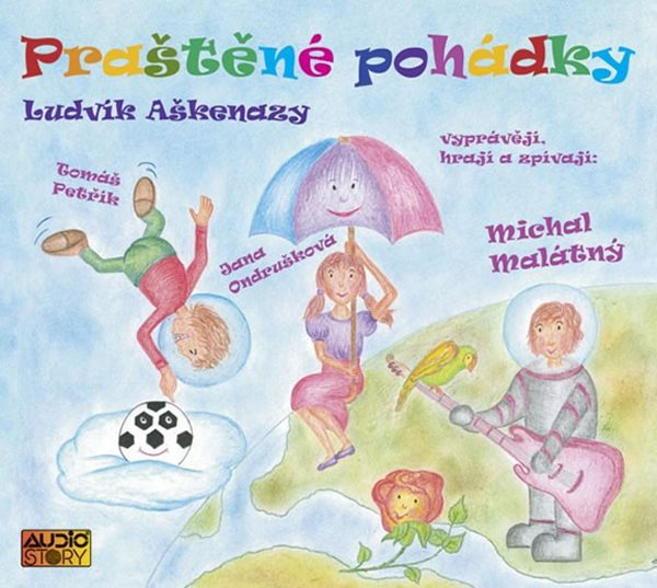 Praštěné pohádky - CD - Aškenazy Ludvík - 13x14