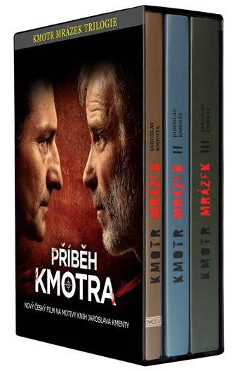 Kmotr Mrázek - Trilogie 1.–3. díl - Kmenta Jaroslav - 14,8x21
