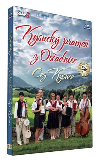 Kysucký prameň z Oščadnice - Cez Kysuce - CD+DVD - neuveden - 13,5x19,2