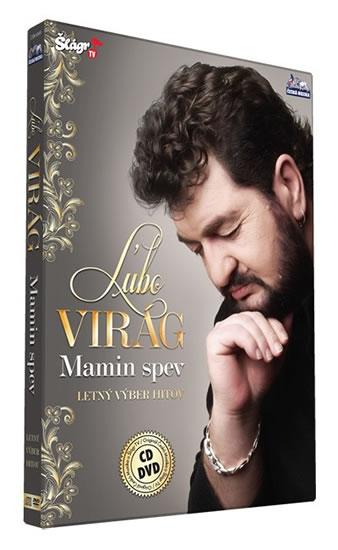 Virág Lubo - Mamin spev - CD+DVD - neuveden - 13,5x19,2