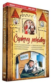 Čapkovy pohádky - 5 DVD
