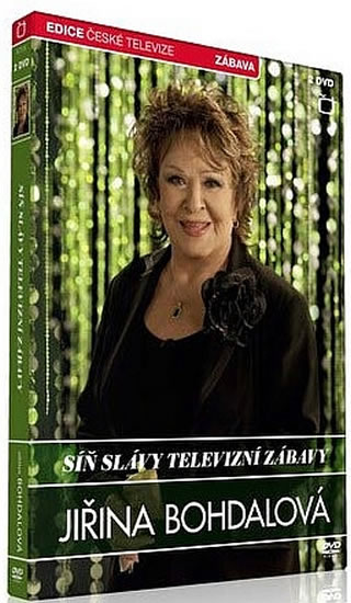 Síň slávy - Jiřina Bohdalová - 2 DVD - neuveden - 13,6x19,2