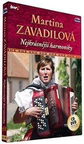Zavadilová Martina - Nejkrásnější harmoniky - CD+DVD