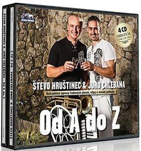 Števo Hruštinec a Juro Chlebana - 4 CD