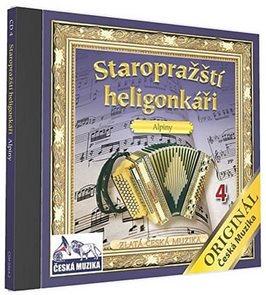 Staropražští heligonkáři - Alpiny - 1 CD