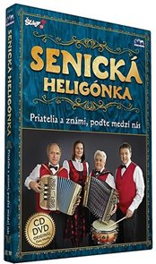Senická heligonka - Priatelia známí - CD+DVD