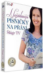 Písničky na přání TV Šlágr - 3CD+2DVD