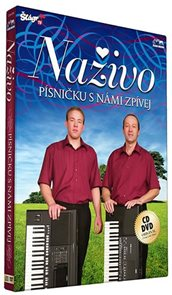 Naživo - Písničku s námi zpívej - CD+DVD