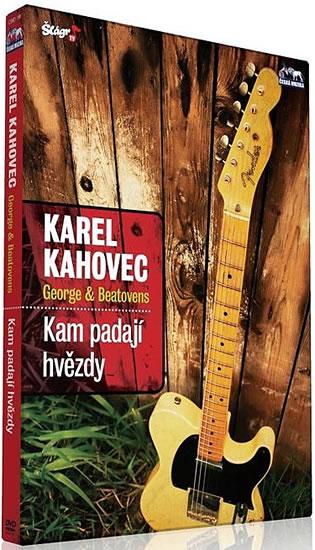 Karel Kahovec - Kam padají hvězdy - DVD - neuveden - 12,5x14,2