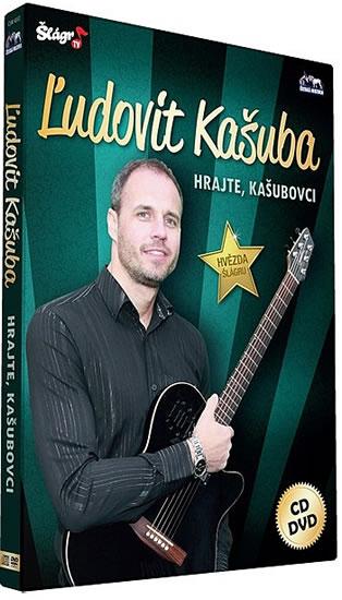 Kašuba L. - Hrajte, Kašubovci - CD+DVD - neuveden - 13,6x19,1