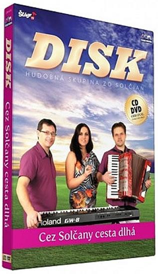 Disk - Cez Solčany cesta dlha - CD+DVD - neuveden - 13,5x19
