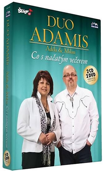 Duo Adamis - Co s načatým večerem - 2 CD+2 DVD - neuveden - 13,6x19,2