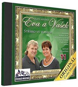 Eva a Vašek 11 - Střibro ve vlasech - 1 CD