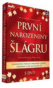 1. narozeniny Šlágr TV - 5 DVD