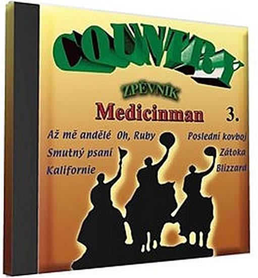 Country zpěvník 3 - 1 CD - neuveden - 12,5x14,2