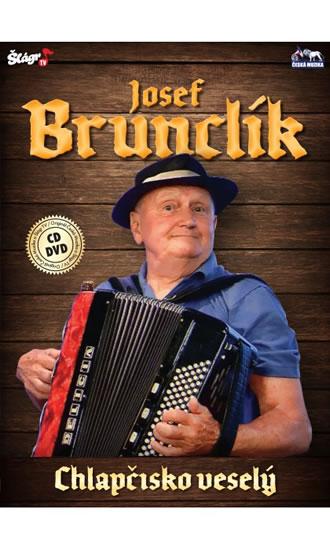 Josef Brunclík - Chlapčisko veselý - CD+DVD - neuveden - 13,6x19,1