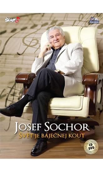 Sochor - Svět je báječný kout - CD+DVD - neuveden - 13,7x19,1