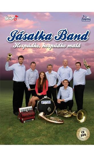 Jásalka Band - Hospůdko, hospůdko malá - CD+DVD - neuveden - 13,7x19,1