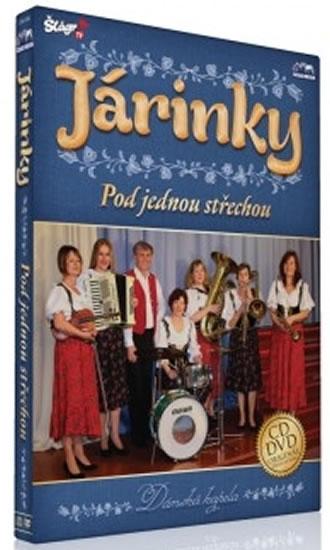 Járinky - Pod jednou střechou - CD+DVD - neuveden - 13,5x19