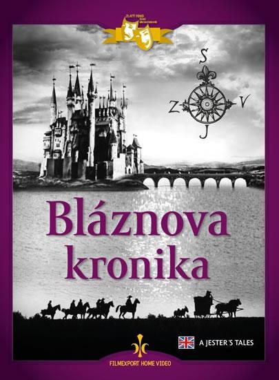 Bláznova kronika - DVD (digipack) - neuveden - 13,6x18,6