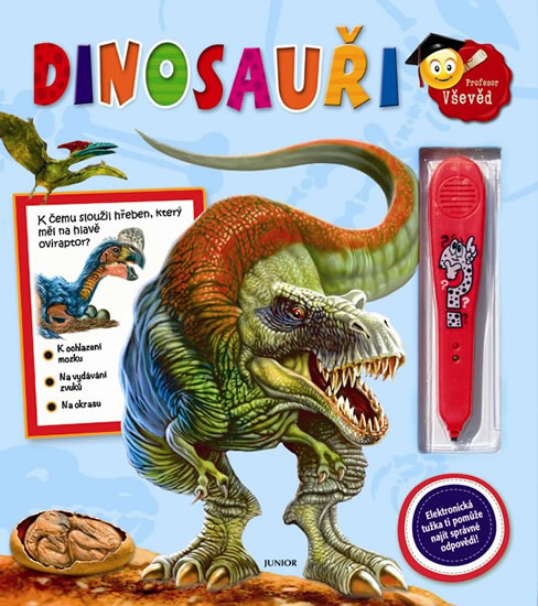 Dinosauři + elektronická tužka (Doktor Vševěd) - neuveden - 25,8x29,4