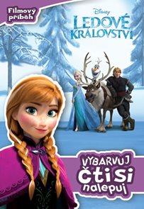 Ledové království - Filmový příběh: vybarvuj, čti si, nalepuj