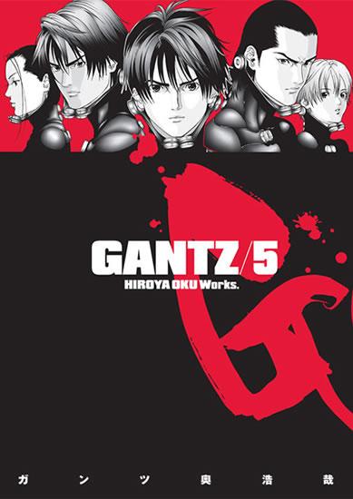 Gantz 5 - Oku Hiroja - 12,7x18,2