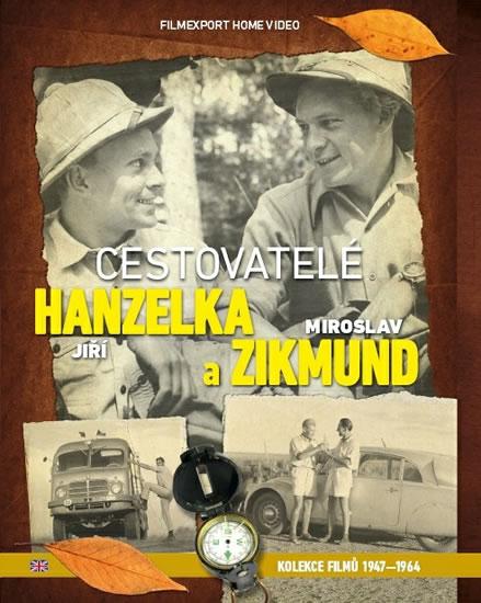 Cestovatelé Zikmund a Hanzelka - kolekce 9 DVD - neuveden - 14x19