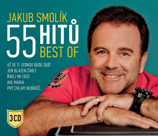 55 hitů BEST OF - 3 CD - Smolík Jakub - 12,4x14,2