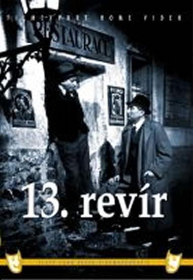 13. revír - DVD box - neuveden - 13,5x19