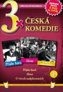 3x DVD - Česká komedie  8.