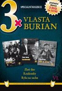 3x DVD - Vlasta Burian VI.