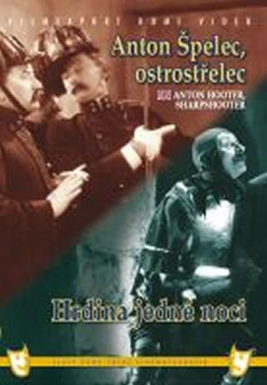 Anton Špelec, ostrostřelec/Hrdina jedné noci (2 filmy na 1 disku) - DVD box - neuveden - 13,5x19