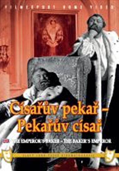 Císařův pekař/Pekařův císař - 2 DVD - digipack v šubru - neuveden - 14x18,8