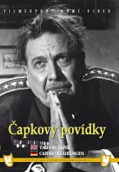 Čapkovy povídky - DVD box - neuveden - 13,5x19