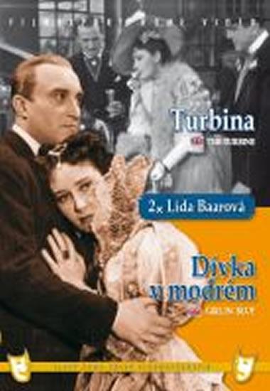 Dívka v modrém/Turbina (2 filmy na 1 disku) - DVD box - neuveden - 13,5x19