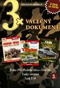 3x DVD - Válečný dokument 3.