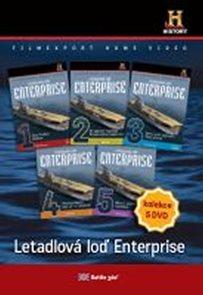 DVD set - Letadlová loď Enterprise 1.- 5.