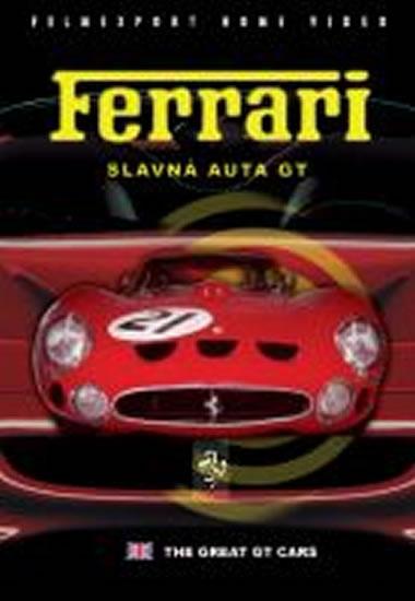 Ferrari - Slavná auta GT - DVD box - neuveden - 13,5x19