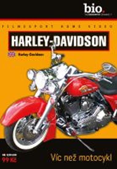 Harley-Davidson: Víc než motocykl - DVD digipack - neuveden - 13,8x18,6