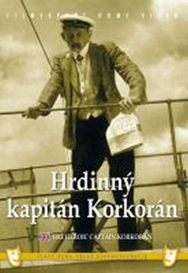 Hrdinný kapitán Korkorán - DVD box - neuveden - 13,5x19