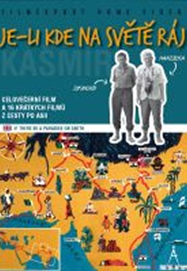 Je-li kde na světě ráj - Kašmír - 2 DVD digipack v šubru - neuveden - 14x18,8