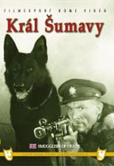 Král Šumavy - DVD box - neuveden - 13,5x19