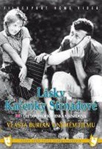Lásky Kačenky Strnadové (1926) - němý film s Vlastou Burianem - DVD box