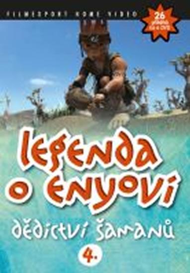Legenda o Enyovi 4 - DVD - neuveden - 13,8x18,6