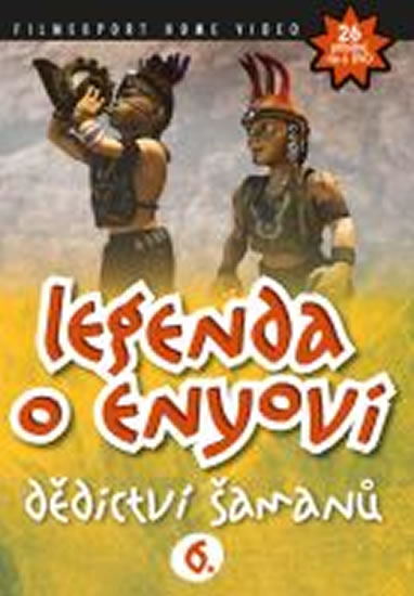 Legenda o Enyovi 6. - DVD - neuveden - 13,8x18,6