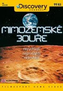 Mimozemské bouře - DVD digipack